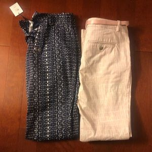2 pairs of Calvin Klein pants